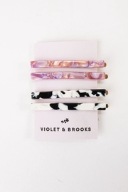 Violet and Brooks Bianca Bobbie Pins - Front cropped