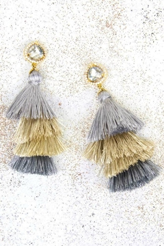Shoptiques Product: Marina Tassel Earrings