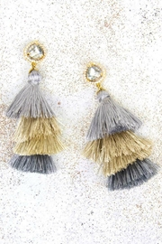 Violet and Brooks Marina Tassel Earrings - Front cropped