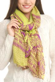 Violet Del Mar Deer Pareo Scarf - Product Mini Image