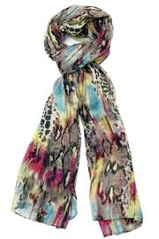 Violet Del Mar Animal Print Scarf - Product Mini Image