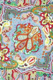 Violet Del Mar French-Vintage Paisley Scarf - Front full body
