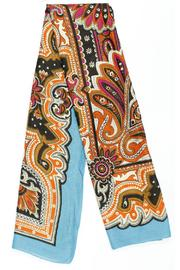 Violet Del Mar French-Vintage Paisley Scarf - Product Mini Image