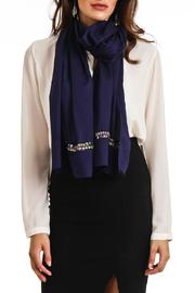 Violet Del Mar Beads Scarf - Front full body