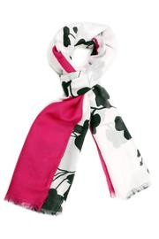 Violet Del Mar Black Floral Scarf - Product Mini Image