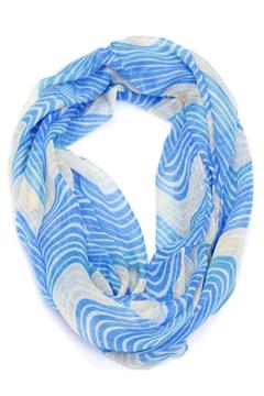 Shoptiques Product: Blue Infinity Scarf