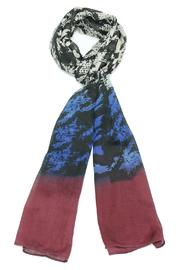 Violet Del Mar Burgundy Scarf - Product Mini Image