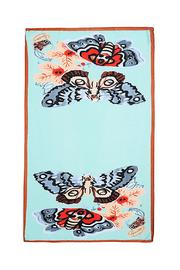Violet Del Mar Butterfly Scarf - Front full body