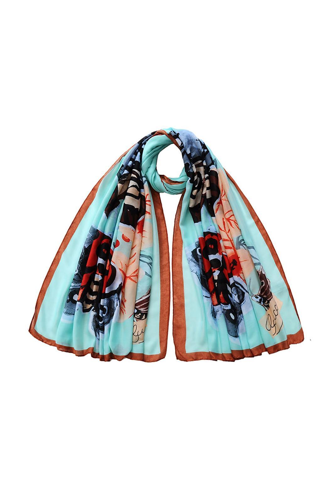 Violet Del Mar Butterfly Scarf - Main Image