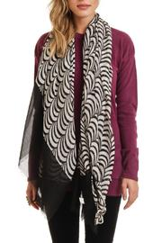 Violet Del Mar Circle Lightweight Scarf - Front cropped