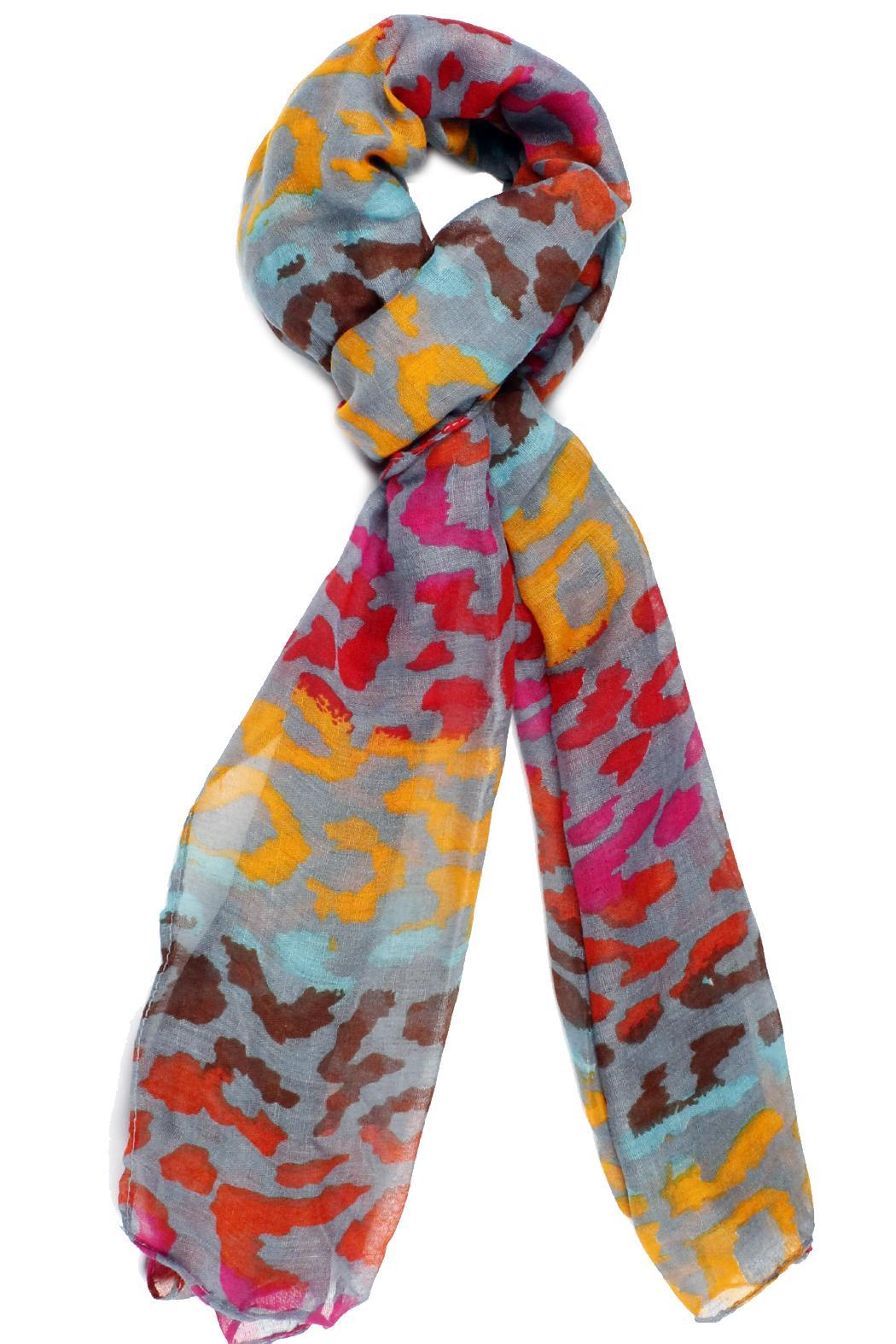 violet mar colorful leopard scarf from san diego by