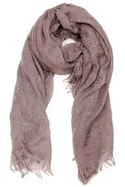 Violet Del Mar Cotton Scarf - Product Mini Image