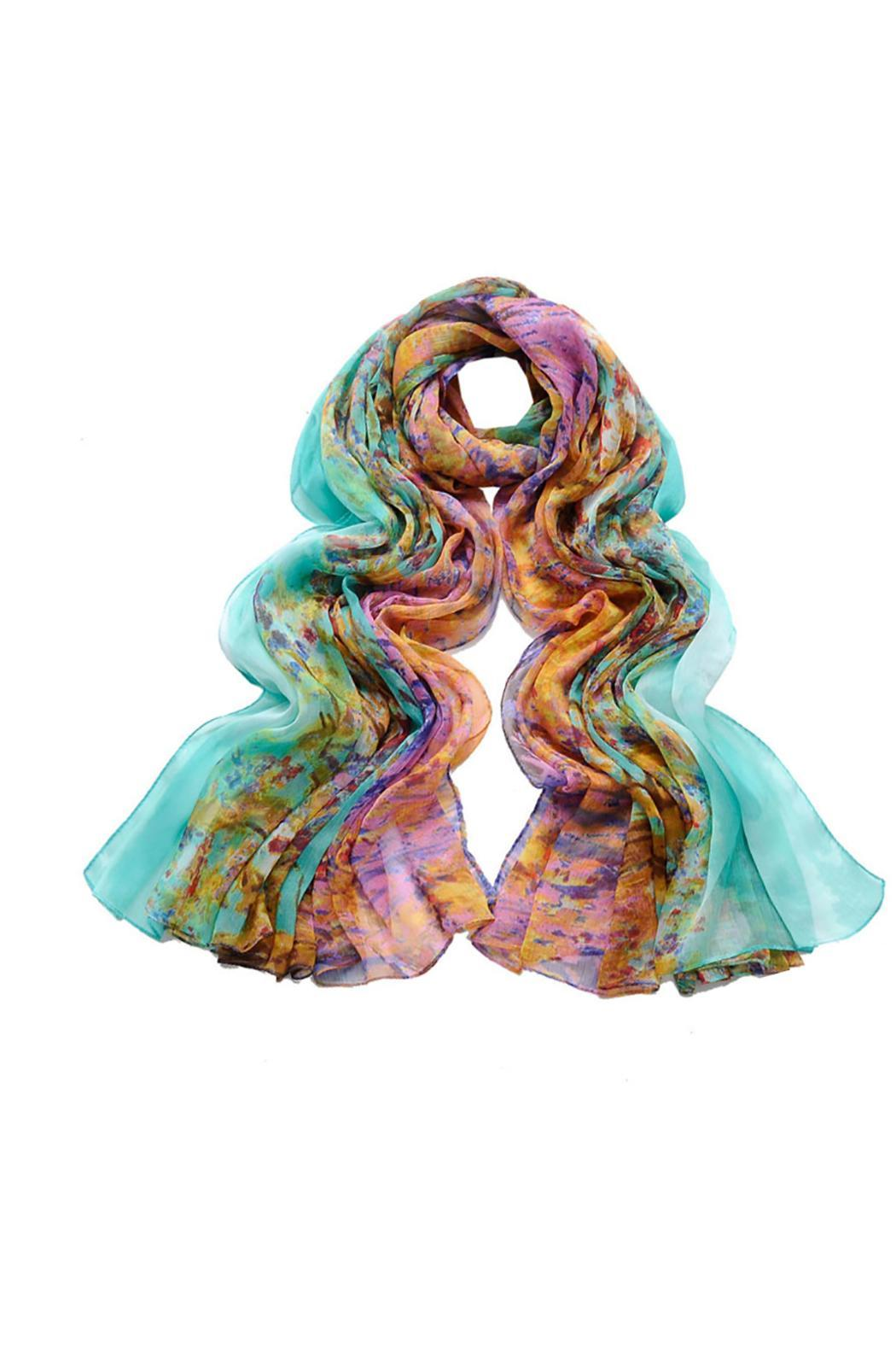 Violet Del Mar Digital Monet Scarf - Main Image