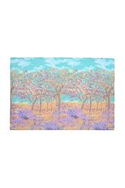 Violet Del Mar Digital Monet Scarf - Front full body