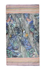 Violet Del Mar Digital Print Scarf - Side cropped
