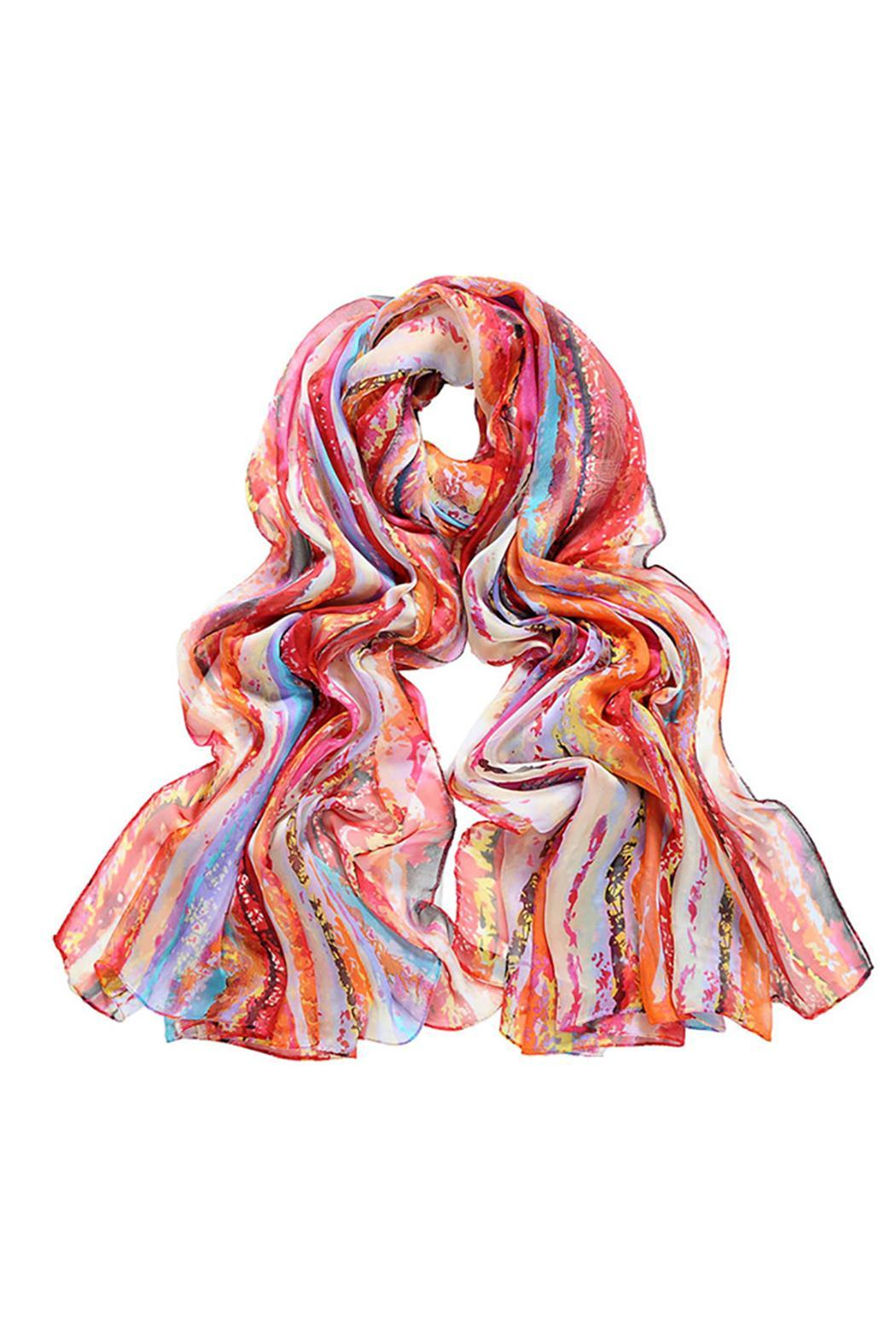 Violet Del Mar Digital Wave Scarf - Main Image