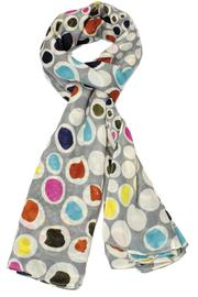 Violet Del Mar Dots Scarf - Product Mini Image
