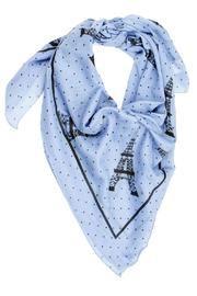Violet Del Mar Eiffel Tower Scarf - Front cropped