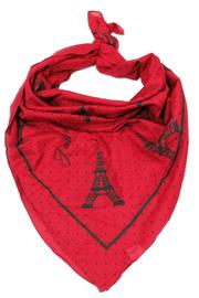 Violet Del Mar Eiffel Tower Scarf - Product Mini Image
