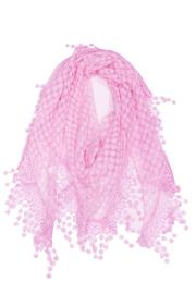 Violet Del Mar Embroidered Scarf - Product Mini Image