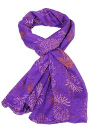 Violet Del Mar Fireworks Purple Scarf - Product Mini Image