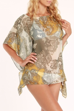Shoptiques Product: Floral Silky Cover Up