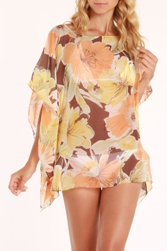 Shoptiques Product: Floral Tunic Cover Up