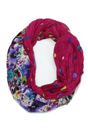Violet Del Mar Floral Infinity Scarf - Product Mini Image