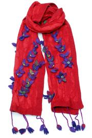 Violet Del Mar Flower Patch Scarf - Product Mini Image