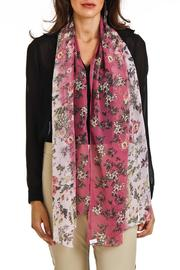 Violet Del Mar Flower Summer Scarf - Product Mini Image