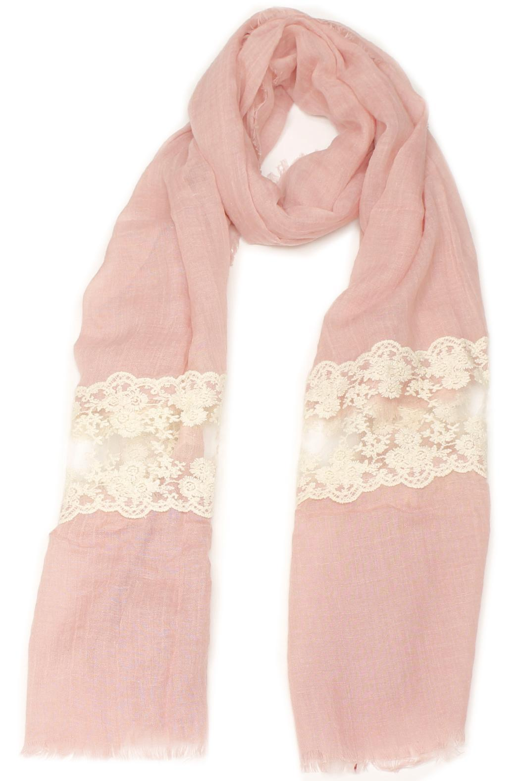 Violet Del Mar French Lace Scarf - Main Image