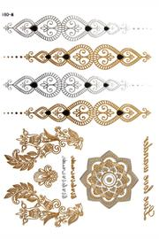 Violet Del Mar Gold Jewelry Tattoos - Product Mini Image