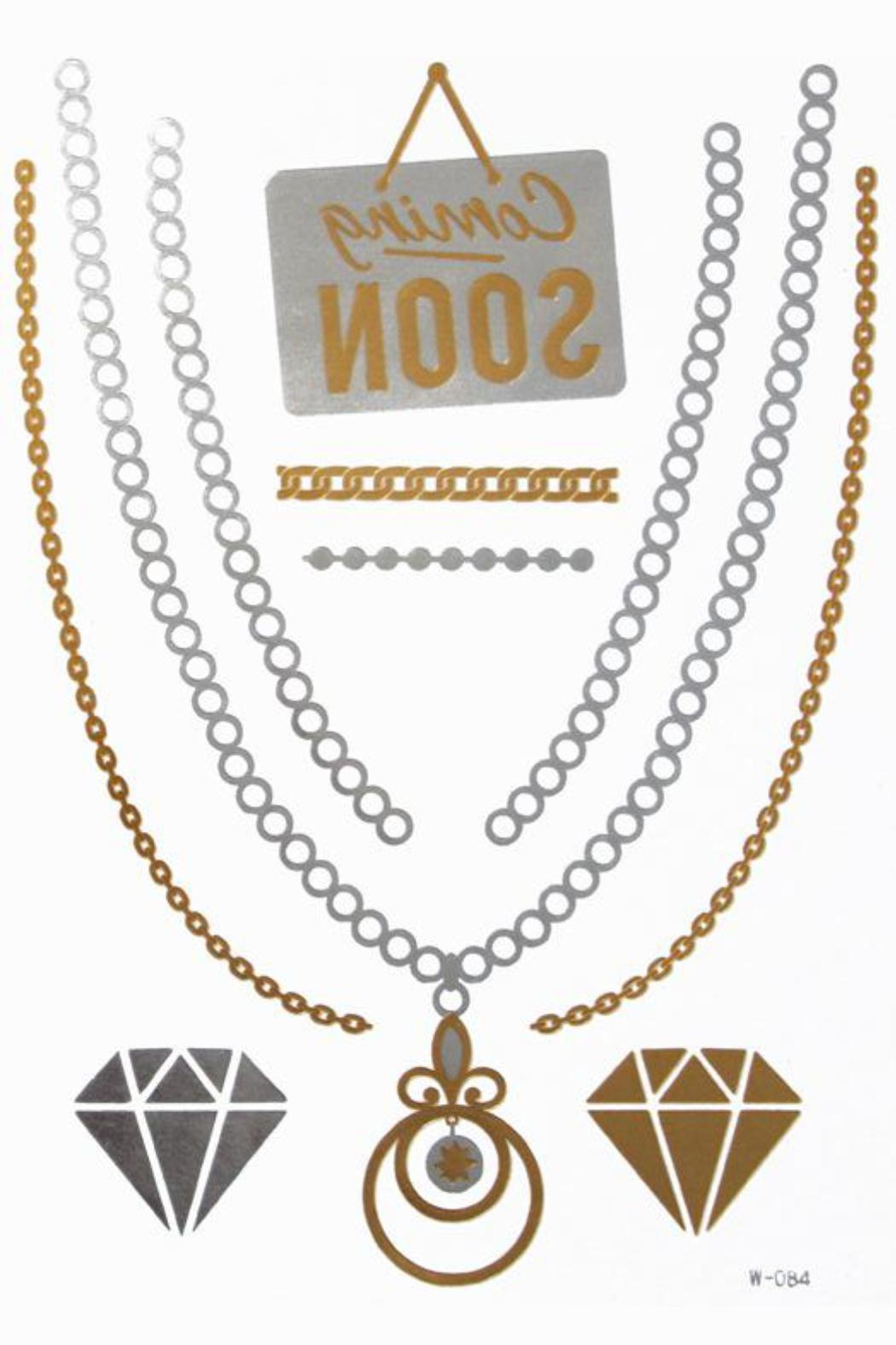 Violet Del Mar Gold Jewelry Tattoos - Main Image