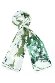 Violet Del Mar Green Stars Scarf - Product Mini Image