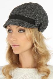 Violet Del Mar Grey Flannel Hat - Product Mini Image