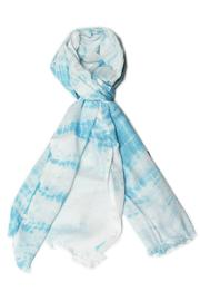 Violet Del Mar Hand Tie-Dye Scarf - Side cropped