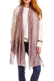 Violet Del Mar Hand Tie-Dye Scarf - Product Mini Image