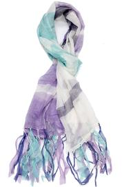 Violet Del Mar Handmade Fringed Scarf - Product Mini Image