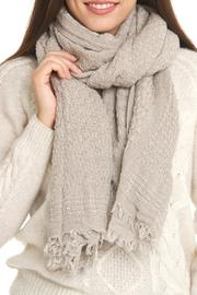 Violet Del Mar Handmade Wool Wrap - Front cropped