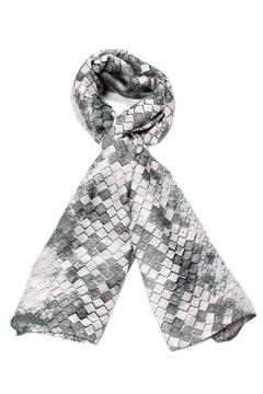 Shoptiques Product: Honeycomb Powder Scarf