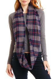 Violet Del Mar Infinity Cashmere Scarf - Side cropped