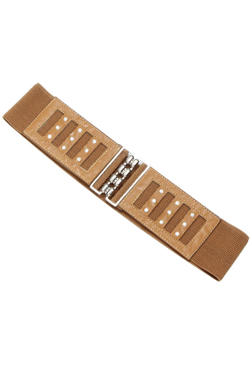 Violet Del Mar Interlock Buckle Belt - Main Image