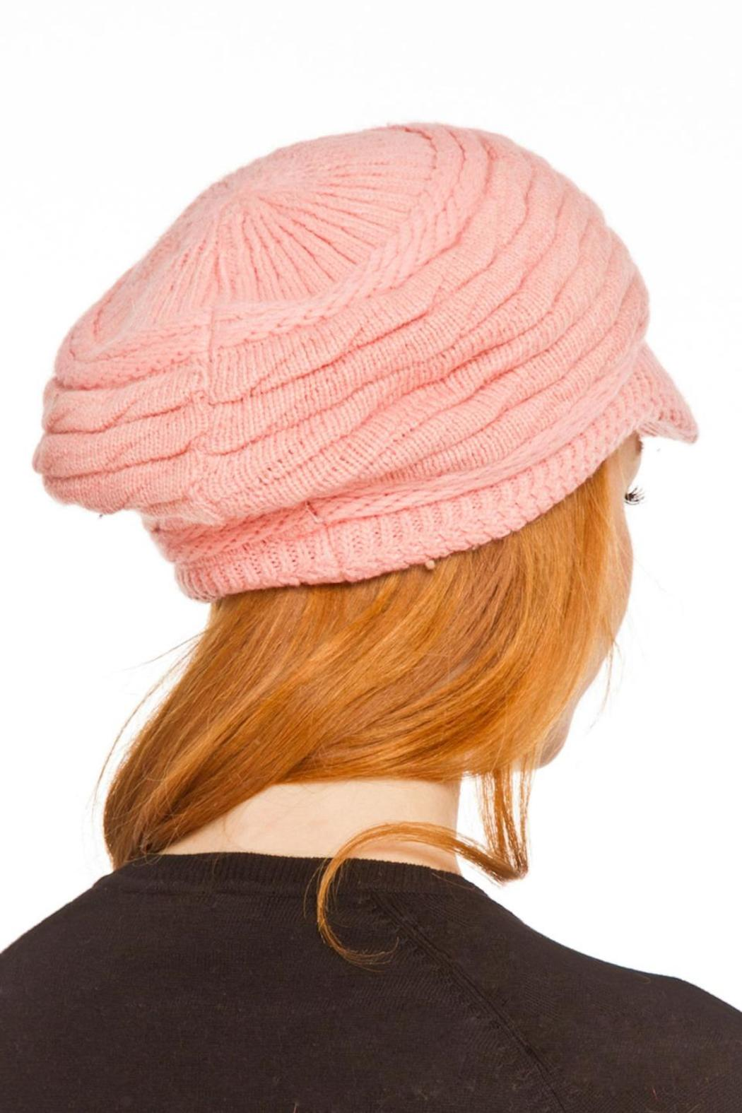 Violet Del Mar Knitted Fashion Hats - Front Full Image