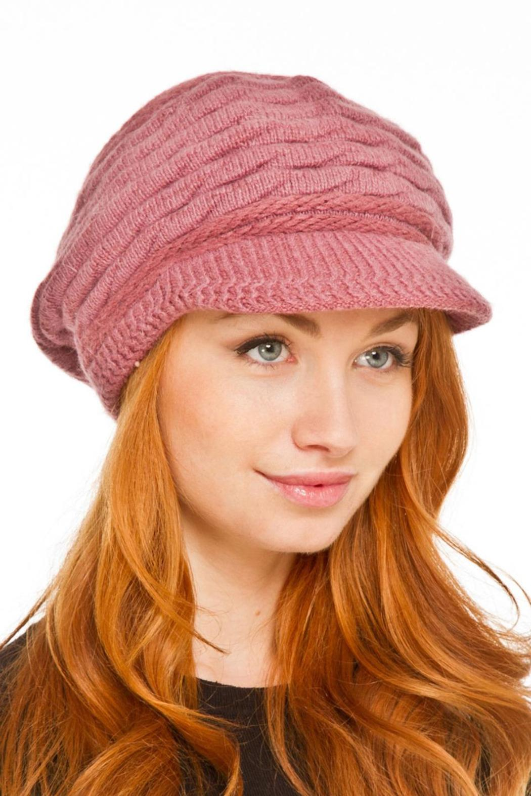 Violet Del Mar Knitted Fashion Hats - Main Image