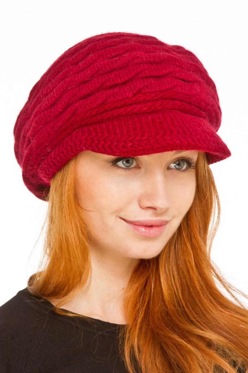 Violet Del Mar Knitted Fashion Hats - Front Cropped Image