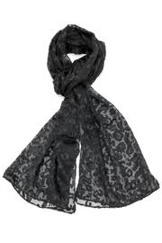 Violet Del Mar Leopard Printed Scarf - Product Mini Image