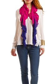 Violet Del Mar Lightweight Ruffle Scarf - Product Mini Image