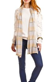 Violet Del Mar Lightweight Stripe Scarf - Product Mini Image