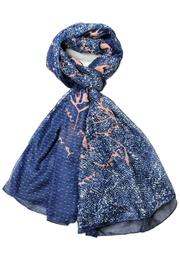 Violet Del Mar Navy Scarf - Product Mini Image