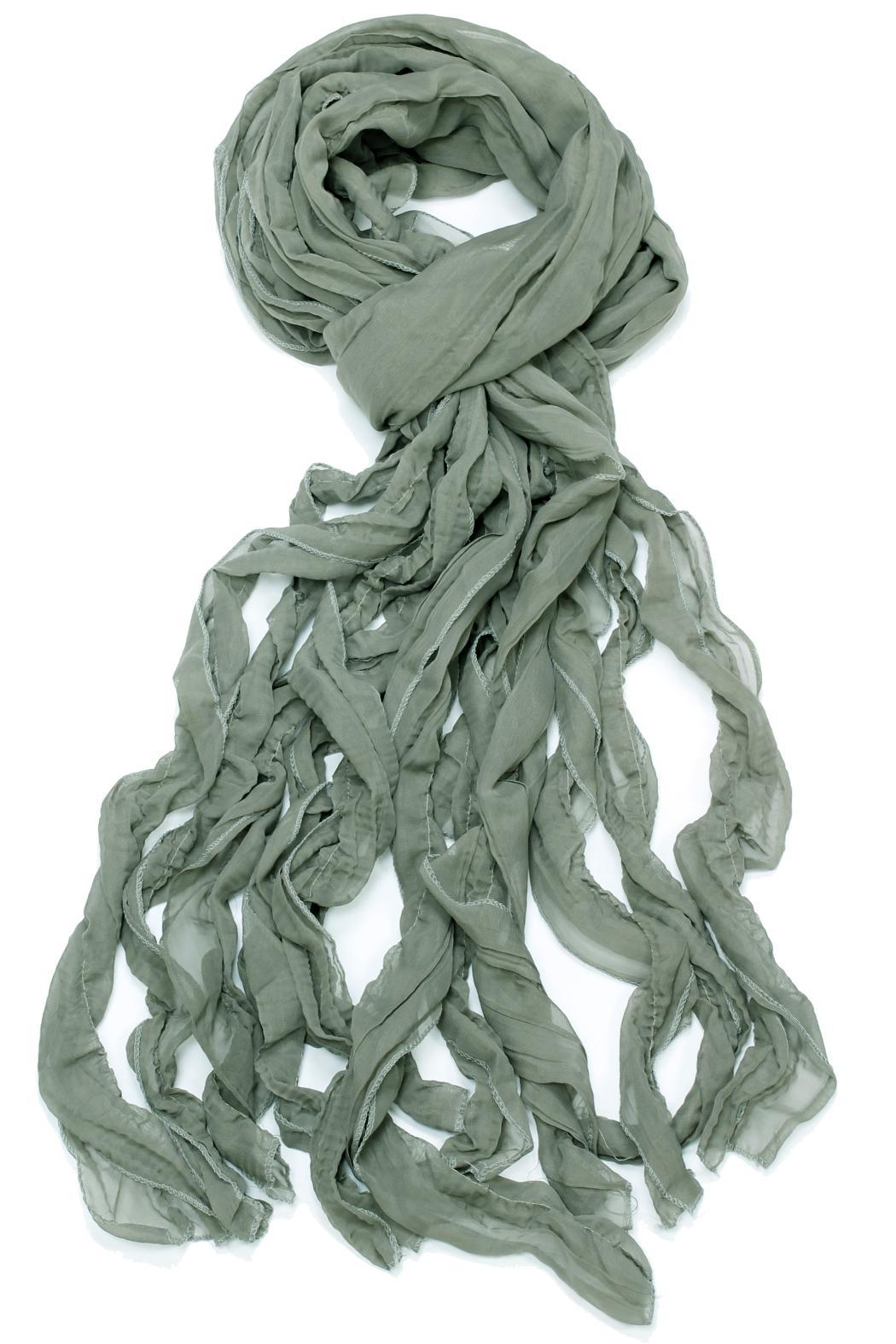 Violet Del Mar Octopus Curly Scarf - Front Cropped Image
